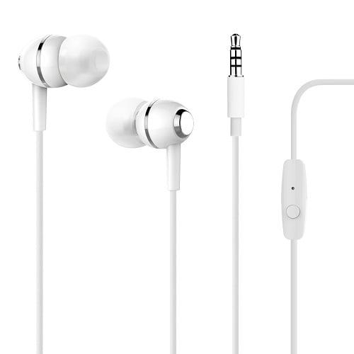 Slušalice za mobitel bijele Puro