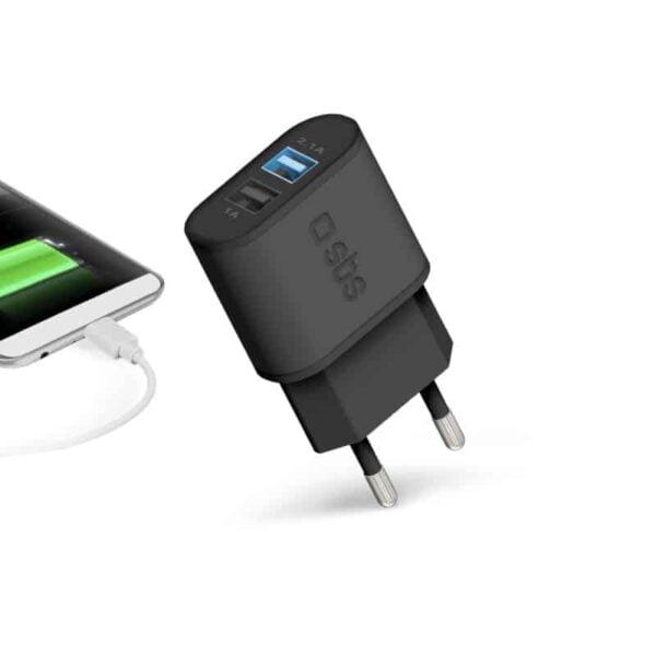 Kućni Punjač FAST CHARGER 2100 mAh s 2 USB utora