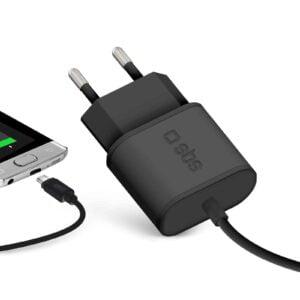 Kućni Punjač 2100 mAh sa integriranim Micro-USB kabelom