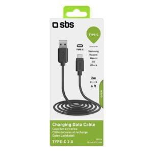 USB 2.0 Kabel na Type-C 2m