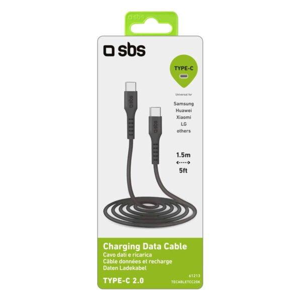 USB 2.0 Type-C Kabel na Type-C 1.5m