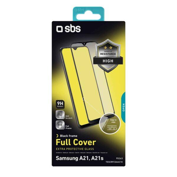 Samsung Galaxy A21/A21s Temperirano Staklo s rubom