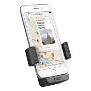 """Univerzalni auto držač za smartphone do 5.5"""" - Crni"""