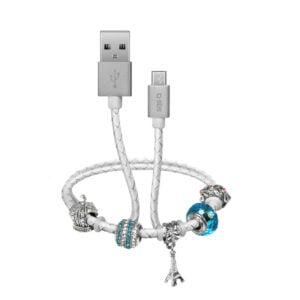USB 2.0 Kabel na Micro-USB SMART&LADIES narukvica 39cm