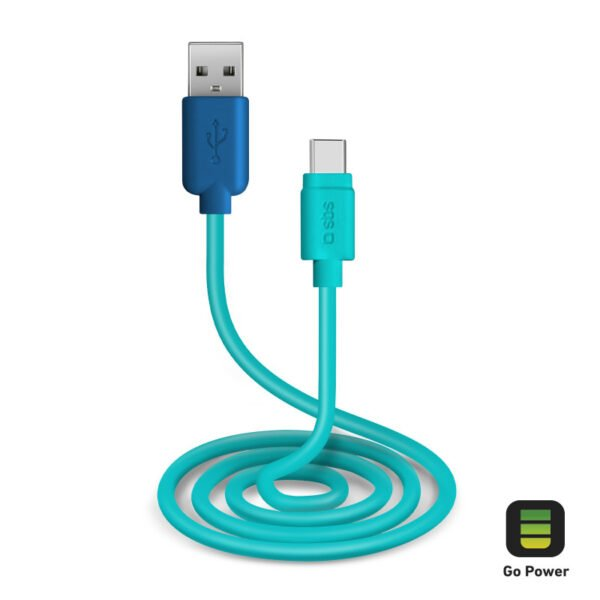 USB 2.0 Kabel na Type-C GO POWER POP 1m