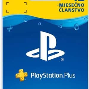 PLAYSTATION PLUS CARD Digitalni Bon za 12 mjeseci