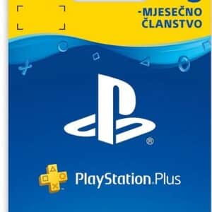 PLAYSTATION PLUS CARD Digitalni Bon za 3 mjeseca