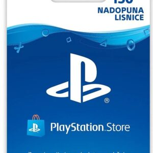 PLAYSTATION STORE CARD Digitalni Bon HRK150
