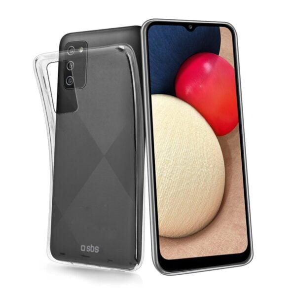 Samsung Galaxy A02s Maskica SKINNY - Transparentna