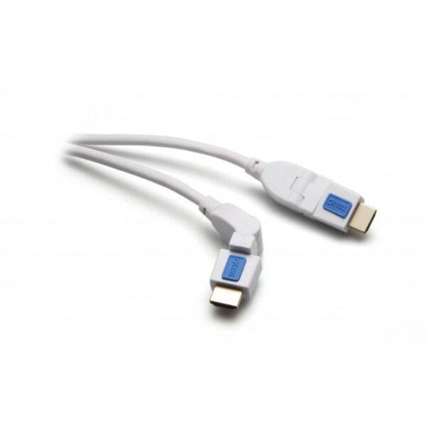 HDMI Kabel BOXLINE sa Ethernetom 18GBps 1.5m rotirajući pozlaćeni konektori